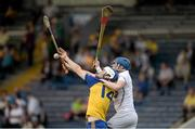 13 September 2014; Joseph Henry, Roscommon, in action against Liam McDonagh, Kildare. Bord Gáis Energy GAA Hurling Under 21 All-Ireland 'B' Championship Final, Roscommon v Kildare. Semple Stadium, Thurles, Co. Tipperary. Picture credit: Ray McManus / SPORTSFILE