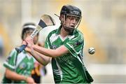 14 September 2014; Niamh Mulcahy, Limerick. All Ireland Intermediate Camogie Championship Final, Kilkenny v Limerick, Croke Park, Dublin. Picture credit: Ramsey Cardy / SPORTSFILE
