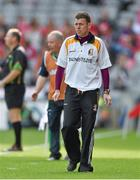 14 September 2014; Kilkenny manager Niall Williams. All Ireland Intermediate Camogie Championship Final, Kilkenny v Limerick, Croke Park, Dublin. Picture credit: Paul Mohan / SPORTSFILE