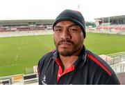 16 September 2014; Ulster's Nick Williams following a press conference ahead of their Guinness Pro 12, Round 3, match against Cardiff on Friday. Ulster Rugby Squad Press Conference, Kingspan Stadium, Ravenhill Park, Belfast, Co. Antrim. Picture credit: Oliver McVeigh / SPORTSFILE