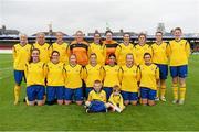 20 September 2014; The Douglas Hall LFC team. FAI Women's Intermediate Cup Final, Douglas Hall LFC v Ballina Town FC. Turners Cross, Cork. Picture credit: Barry Cregg / SPORTSFILE