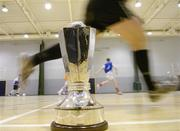 13 February 2007; The FAI Futsal Cup at the launch of the Under 21 Futsal League by the Football Association of Ireland. Dublin City University, Dublin. Picture credit: David Maher / SPORTSFILE