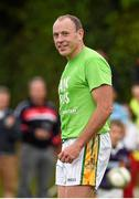 20 September 2014; Seamus Moynihan, Kerry. FBD 7s Celebrity Charity Football Match, Kerry v Donegal. Páirc de Búrca, Glenalbyn, Stillorgan, Co. Dublin. Picture credit: Ramsey Cardy / SPORTSFILE