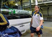 21 September 2014; Donegal's Michael Murphy arrives into the stadium ahead of the game. GAA Football All Ireland Senior Championship Final, Kerry v Donegal. Croke Park, Dublin. Picture credit: Brendan Moran / SPORTSFILE