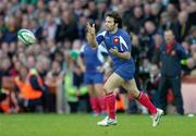 11 February 2007; Christophe Dominici, France. RBS Six Nations Rugby Championship, Ireland v France, Croke Park, Dublin. Picture Credit: Matt Browne / SPORTSFILE