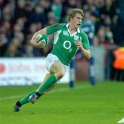 11 February 2007; Andrew Trimble, Ireland. RBS Six Nations Rugby Championship, Ireland v France, Croke Park, Dublin. Picture Credit: Matt Browne / SPORTSFILE