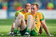 21 September 2014; Donegal's Anthony Thompson, right, and Dermot Molloy dejected at the final whistle. GAA Football All Ireland Senior Championship Final, Kerry v Donegal. Croke Park, Dublin. Picture credit: Ramsey Cardy / SPORTSFILE