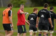 23 September 2014; Munster head coach Anthony Foley during squad training ahead of their Guinness PRO12, Round 4, match against Ospreys on Saturday. Munster Rugby Squad Training and Press Conference, University of Limerick, Limerick. Picture credit: Diarmuid Greene / SPORTSFILE