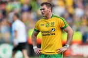 21 September 2014; Donegal's Dermot Molloy dejected at the end of the game. GAA Football All Ireland Senior Championship Final, Kerry v Donegal. Croke Park, Dublin. Picture credit: Ramsey Cardy / SPORTSFILE