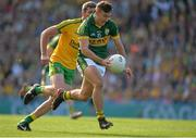 21 September 2014; James O'Donoghue, Kerry, in action against Christy Toye, Donegal. GAA Football All Ireland Senior Championship Final, Kerry v Donegal. Croke Park, Dublin. Picture credit: Brendan Moran / SPORTSFILE