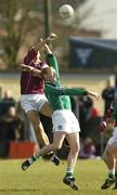 7 March 2004; Kevin Walsh of Galway in action against John Quaine of Limerick during the Allianz Football League Division 1B Round 4 match between Galway and Limerick at Duggan Park in Ballinasloe, Galway. Photo by Pat Murphy/Sportsfile