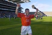17 March 2004; Jerry O'Connor, Newtownshandrum, celebrates after victory over Dunloy. AIB All-Ireland Club Football Final, Newtownshandrum v Dunloy, Croke Park, Dublin, Photo by Brendan Moran/Sportsfile