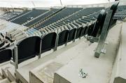 11 March 2007; The newly erected seating on Hill 16 for the upcoming European Championship Qualifier between the Republic of Ireland and Wales. Croke Park, Dublin. Picture credit: David Maher / SPORTSFILE