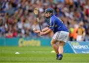 27 September 2014; Eoghan O'Brien, Kilvemnon NS, Mullinahone, Tipperary, representing Tipperary, during the INTO/RESPECT Exhibition GoGames. Croke Park, Dublin. Picture credit: Piaras O Midheach / SPORTSFILE