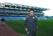 20 March 2007; Republic of Ireland's Robbie Keane at the end of squad training. Croke Park, Dublin. Picture credit: David Maher / SPORTSFILE