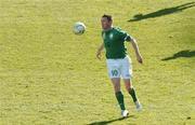 24 March 2007; Robbie Keane, Republic of Ireland. 2008 European Championship Qualifier, Republic of Ireland v Wales, Croke Park, Dublin. Picture credit: Paul Mohan / SPORTSFILE *** Local Caption ***