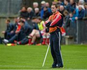 5 October 2014; St Brigids manager Tony McEntee. Dublin County Senior Championship Quarter-Final, St Judes v St Brigids. O'Toole Park, Crumlin, Dublin. Picture credit: Piaras Ó Mídheach / SPORTSFILE