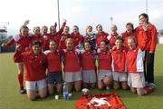 25 March 2007; The Pegasus team celebrate with the cup. ESB Irish Women's Hockey Senior Cup Final, Pembroke Wanderers v Pegasus, Belfield, Dublin. Picture credit: Ray Lohan / SPORTSFILE  *** Local Caption ***