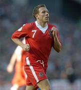 24 March 2007; Craig Bellamy, Wales. 2008 European Championship Qualifier, Republic of Ireland v Wales, Croke Park, Dublin. Picture credit: Matt Browne / SPORTSFILE
