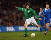 28 March 2007; Kevin Kilbane, Republic of Ireland. 2008 European Championship Qualifier, Republic of Ireland v Slovakia, Croke Park, Dublin. Picture credit: David Maher / SPORTSFILE
