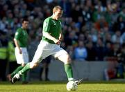 24 March 2007; Richard Dunne, Republic of Ireland. 2008 European Championship Qualifier, Republic of Ireland v Wales, Croke Park, Dublin. Picture credit: Matt Browne / SPORTSFILE