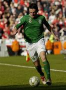 24 March 2007; Jonathan Douglas, Republic of Ireland. 2008 European Championship Qualifier, Republic of Ireland v Wales, Croke Park, Dublin. Picture credit: Matt Browne / SPORTSFILE