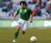 24 March 2007; Stephen Hunt, Republic of Ireland. 2008 European Championship Qualifier, Republic of Ireland v Wales, Croke Park, Dublin. Picture credit: Matt Browne / SPORTSFILE