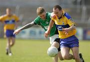 1 April 2007; Rory Donnelly, Clare, in action against Shaun Campbell, London. Allianz National Football League, Division 2A Round 5, Clare v London, Cusack Park, Ennis, Co. Clare. Picture credit: Kieran Clancy / SPORTSFILE