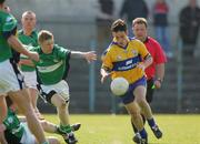 1 April 2007; Michael O'Dwyer, Clare, in action against Shaun Campbell, London. Allianz National Football League, Division 2A Round 5, Clare v London, Cusack Park, Ennis, Co. Clare. Picture credit: Kieran Clancy / SPORTSFILE