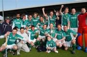 1 April 2007; Glenanne players celebrate at the end of the game. Irish Men's Senior Cup Final, Annadale, Belfast, v Glenanne, Tallaght, UCD Belfield, Dublin. Picture credit: David Maher / SPORTSFILE