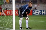5 June 2002; Oliver Kahn, Germany. FIFA World Cup Finals, Group E, Republic of Ireland v Germany, Ibaraki Stadium, Ibaraki, Japan. Picture credit: David Maher / SPORTSFILE