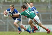21 April 2007; Craig Rogers, Laois, in action against Mark Ronaldson, Mayo. Cadbury All-Ireland U21 Football Championship Semi-Final, Mayo v Laois, Dr Hyde Park, Co. Roscommon. Picture credit; Paul Mohan / SPORTSFILE