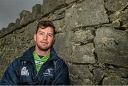 21 October 2014; Connacht's Danie Poolman after a press conference ahead of their European Rugby Challenge Cup, Pool 2, Round 2, match against Exeter Chiefs on Saturday. The Sportsground, Galway. Picture credit: Diarmuid Greene / SPORTSFILE