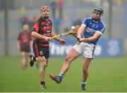 26 October 2014; Liam Markham, Cratloe, in action against Shane O'Sullivan, Ballygunner. AIB Munster GAA Hurling Senior Club Championship, Quarter-Final, Ballygunner v Cratloe, Walsh Park, Waterford. Picture credit: Matt Browne / SPORTSFILE