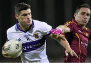 27 October 2014; Diarmuid Connolly, St Vincent's, in action against Declan Lally, St Oliver Plunketts Eogha Ruadh. Dublin County Senior Football Championship Final, St Oliver Plunketts Eogha Rua v St Vincent's. Parnell Park, Dublin. Picture credit: Stephen McCarthy / SPORTSFILE