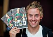 29 October 2014; Conor Mortimer during the launch of his book 'One Sunday: A Day in the Life of the Mayo Football Team' by Conor Mortimer with Jackie Cahill (published by Hero Books, priced €16.99). McWilliam Hotel, Claremorris, Co. Mayo. Picture credit: Ray Ryan / SPORTSFILE