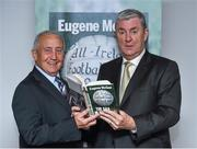 30 October 2014; Eugene McGee with former Meath football manager Seán Boylan during the launch of his book  'The GAA in My Time' by Eugene McGee. Croke Park, Dublin. Picture credit: Matt Browne / SPORTSFILE