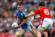 20 May 2007; Lieghton Glynn, Wicklow, in action against Peter McGinnity, Louth. Bank of Ireland Leinster Senior Football Championship, Louth v Wicklow, Croke Park, Dublin. Picture credit: Brian Lawless / SPORTSFILE