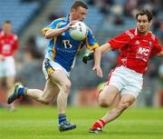 20 May 2007; Leighton Glynn, Wicklow, in action against, Peter McGinnity, Louth. Bank of Ireland Leinster Senior Football Championship, Louth v Wicklow, Croke Park, Dublin. Picture credit: Brian Lawless / SPORTSFILE