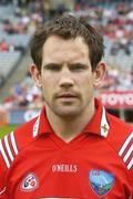20 May 2007; Peter McGinnity, Louth captain. Bank of Ireland Leinster Senior Football Championship, Louth v Wicklow, Croke Park, Dublin. Picture credit: Ray Lohan / SPORTSFILE  *** Local Caption ***