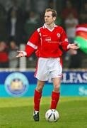 21 April 2007; Ronan Scannell, Cliftonville. Carnegie Premier League, Cliftonville v Glentoran, Solitude, Belfast, Co. Antrim. Picture credit; Russell Pritchard / SPORTSFILE