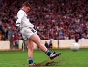 18th July 1999; Fergal Byron, Laois goalkeeper, Football.  Picture Credit; Ray Lohan/SPORTSFILE
