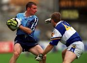 18th July 1999; Jim Gavin, Dublin in action against Patrick Conway, Laois, Leinster Football Championship Semi Final Replay, Croke Park. Picture Credit; Damien Eagers/SPORTSFILE.