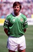 Ronnie Whelan, Republic of Ireland, Soccer. Picture credit; Ray McManus/SPORTSFILE