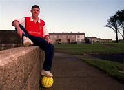 6th January 2000;  Stephen Bradley Arsenal and Rep of Ireland, relaxes at his home in Jobstown,Tallaght, Dublin. Soccer. Picture Credit ; David Maher/SPORTSFILE