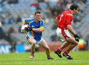 3 June 2007; Leighton Glynn, Wicklow, in action against Peter McGinnity, Louth. Bank of Ireland Leinster Senior Football Championship 2nd Replay, Louth v Wicklow, Croke Park, Dublin. Picture credit: Ray McManus / SPORTSFILE