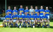 10 June 2007; The Tipperary team. Munster Intermediate Hurling Championship Semi-Final, Limerick v Tipperary, Gaelic Grounds, Limerick. Picture credit: Brendan Moran / SPORTSFILE