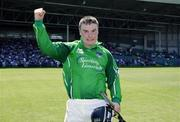 10 June 2007; Limerick's Richard McCarthy celebrates victory. Munster Intermediate Hurling Championship Semi-Final, Limerick v Tipperary, Gaelic Grounds, Limerick. Picture credit: Ray McManus / SPORTSFILE