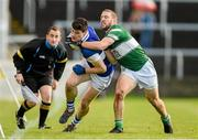 9 November 2014; Diarmuid Connolly, St Vincent's, in action against Cahir Healy, Portlaoise. AIB Leinster GAA Football Senior Club Championship, Quarter-Final, Portlaoise v St Vincent's, O'Moore Park, Portlaoise, Co. Laois. Picture credit: Pat Murphy / SPORTSFILE