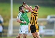 9 November 2014; Seamus Quigley, Roslea Shamrocks, and Michael Martin, St. Eunan's, get involved in an altercation during the first half. AIB Ulster GAA Football Senior Club Championship, Quarter-Final, St Eunan's v Roslea Shamrocks, O'Donnell Park, Letterkenny, Co. Donegal. Picture credit: Paul Mohan / SPORTSFILE